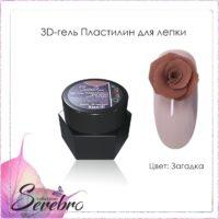 """3D-гель Пластилин для лепки """"Serebro collection"""" (загадка), 5 мл"""