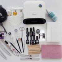 Стартовый набор для покрытия гель лаком с аппаратом MIX торговых марок