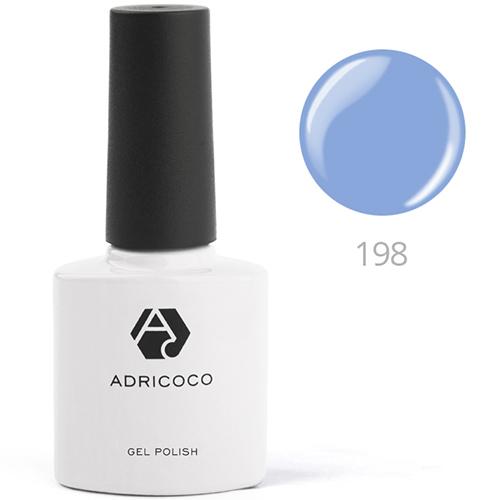 Цветной гель-лак ADRICOCO №199 классический синий (8 мл.)