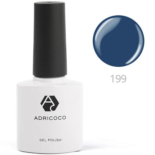 Цветной гель-лак ADRICOCO №200 сапфировый (8 мл.)